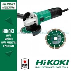 Hitachi (HiKOKI) G12STA Sarokcsiszoló + Gyémánttárcsa