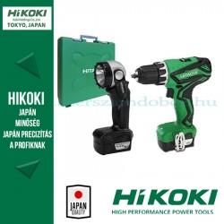 Hitachi (HiKOKI) DS10DAL Akkus Fúró-csavarbehajtó + UB10DL Lámpa