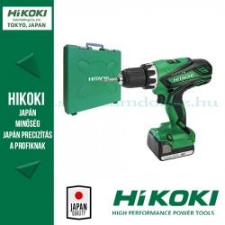 Hitachi (HiKOKI) DS14DJLTC Akkus Fúró-csavarbehajtó
