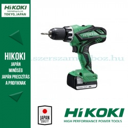 Hitachi DS14DJLWK Akkus Fúró-csavarbehajtó