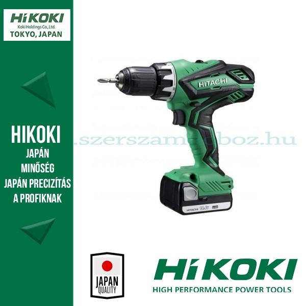 Hitachi Akkus fúró-csavarbehajtók