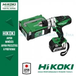 Hitachi (HiKOKI) DS18DSDL Akkus fúró-csavarbehajtó
