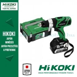 Hitachi (HiKOKI) DS18DBLTP Akkus fúró-csavarbehajtó