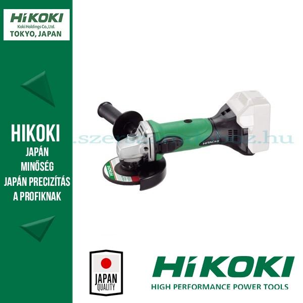 Hitachi (HiKOKI) G18DSL-BASIC-115 Akkus Sarokcsiszoló Alapgép