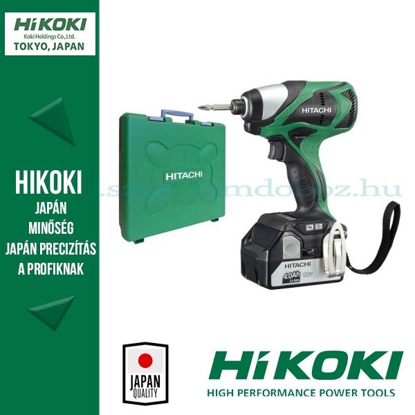 Hitachi Akkus ütve-csavarbehajtók