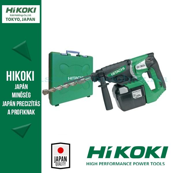 Hitachi Akkus fúrókalapácsok