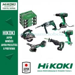 Hitachi (HiKOKI) HILI5666B 6 részes Akkus Gépszett