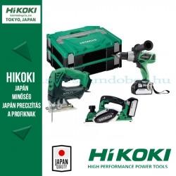 Hitachi (HiKOKI) HILI5235 3 részes Akkus Gépszett