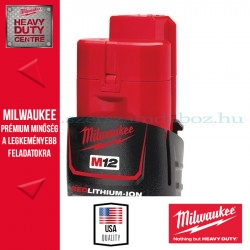 Milwaukee M12 B3 12V Li-Ion akkumulátor
