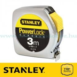 Stanley Powerlock fémházas mérőszalag