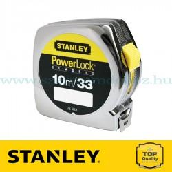 Stanley Powerlock ABS műanyagházas mérőszalag