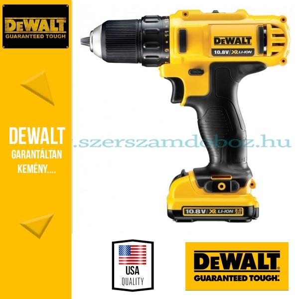 DeWalt DCD710D2-QW Kompakt fúró-csavarbehajtó