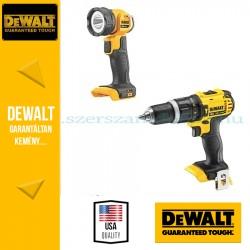 DeWalt Ütvefúró-csavarbehajtó + Lámpa DCK282C2-QW