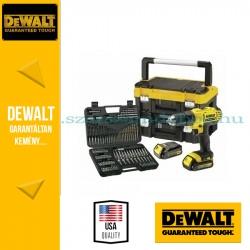 DeWalt DCK734C2T-QW Fúró-csavarbehajtó + tartozék