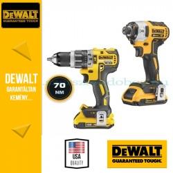 DeWalt DCK266D2-QW 18.0V-os XR Csavarbehajtó szett