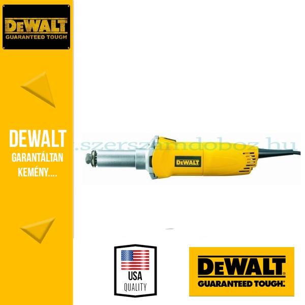 DeWalt D28886-QS Fordulatszámszabályzós egyenescsiszoló