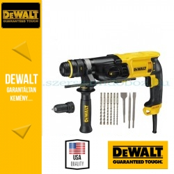 DeWalt D25134KP-QS SDS-Plus fúró-vésőkalapács tartozékokkal