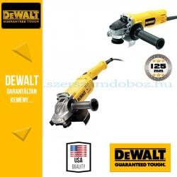 DeWalt DWE492-QS + DWE4157-QS Sarokcsiszoló szett kofferben