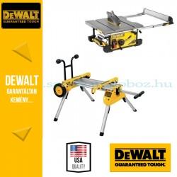 DeWalt DWE7491-QS Asztali körfűrész + DE7400-XJ Állvány