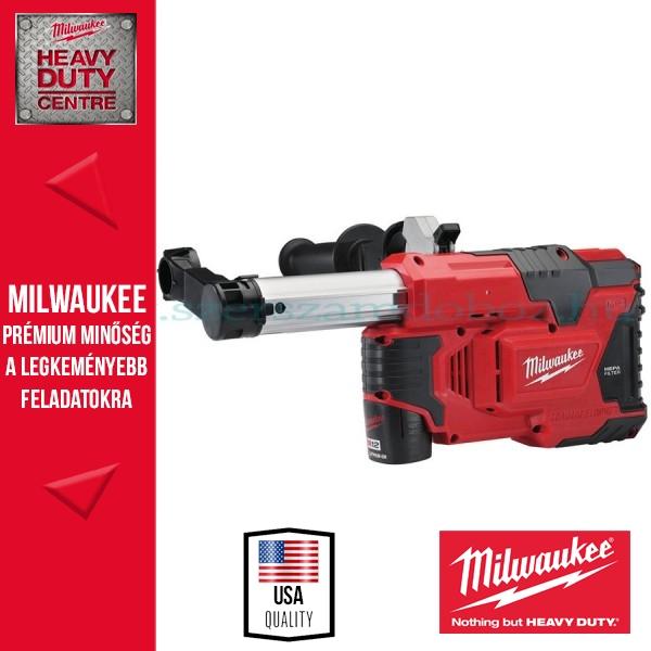 Milwaukee M12 DE-151C Porelszívó fúrókalapácshoz
