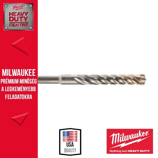 Milwaukee SDS-Plus fúrószár RX4 - 4élű - 22 x 400mm