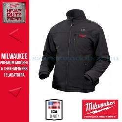 Milwaukee M12 HJ BLACK-201 (L) Fűthető kabát