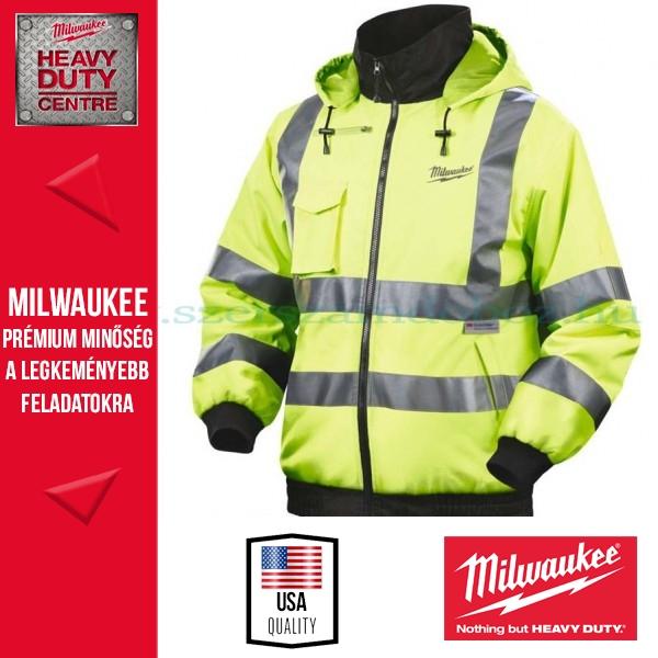 Milwaukee M12 HJ HIVIS-201 (L) Fűthető kabát