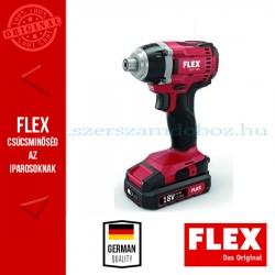 """FLEX ID  ¼"""" 18.0 Akkus ütve-csavarbehajtó"""