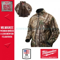 Milwaukee M12 HJ CAMO2-201 (L) Fűthető kabát