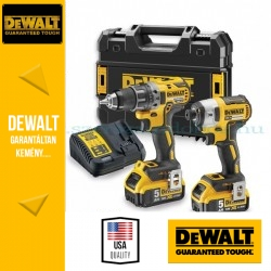 DeWalt Fúró-csavarozó + Ütvecsavarozó DCK268PT-QW