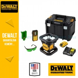 DeWalt DCE079D1G-QW Önbeálló zöld sugarú forgólézer