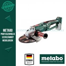 Metabo WPB 36-18 LTX BL 230 Akkus sarokcsiszoló alapgép