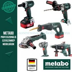 Metabo Építőipari gépcsomag (5 gép+lámpa)