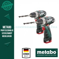 Metabo Combo set 2db PowerMaxx BS Basic Akkus fúrócsavarozó