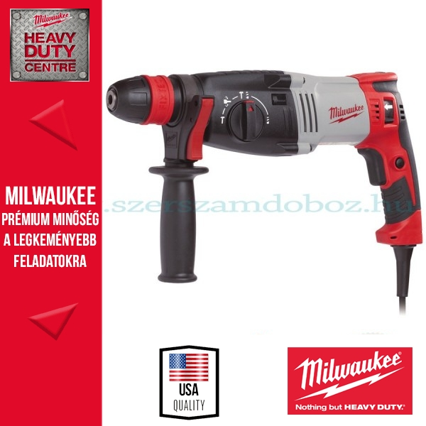 Milwaukee PH 30 Power X Fúró-vésőkalapács