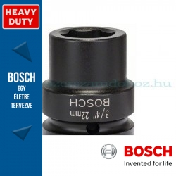 "Bosch Dugókulcs 3/4"" 22 mm"