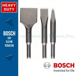 Bosch 3 részes véső készlet, SDS-plus rövid szárú