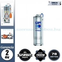 Pedrollo UPm4/6 Elektromos Merülőszivattyú úszókapcsoló nélkül