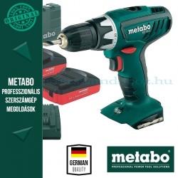 Metabo BS 18 Li Akkus fúrócsavarbehajtó 13mm