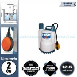 Pedrollo TOP 4N Elektromos Vízmentesítő Merülőszivattyú tiszta vízhez