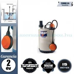 Pedrollo TOP 5N Elektromos Vízmentesítő Merülőszivattyú tiszta vízhez