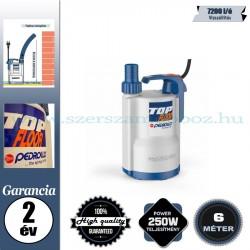 Pedrollo TOP 1-FLOOR Elektromos Vízmentesítő Merülőszivattyú tiszta vízhez