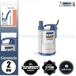 Pedrollo TOP 2-FLOOR Elektromos Vízmentesítő Merülőszivattyú tiszta vízhez