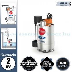Pedrollo RXm1-GM Elektromos Szivattyú tiszta vízhez mágneses úszókapcsolóval
