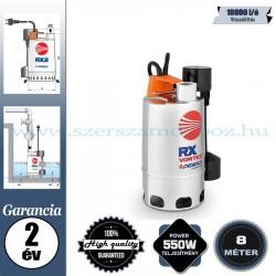 Pedrollo Rxm 3/20-GM Elektromos Szivattyú szennyezett vízhez mágneses úszókapcsolóval
