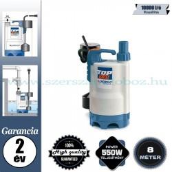 Pedrollo TOP 3-VORTEX/GM Elektromos Szivattyú szennyezett vízhez
