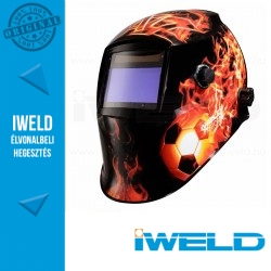 IWELD FANTOM Automata hegesztőpajzs (Tűz labda)