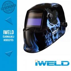 IWELD NORED EYE II Automata hegesztőpajzs (Kék koponya)