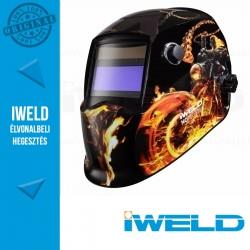 IWELD NORED EYE II Automata hegesztőpajzs (Tűz motor)