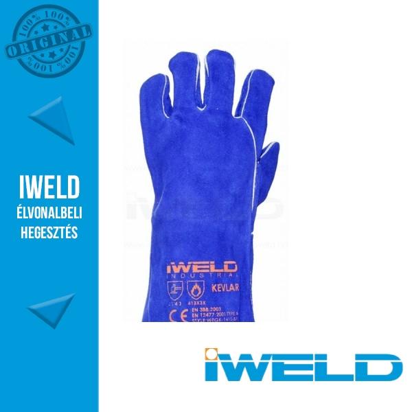 eb1113e4b8 IWELD Hegesztő védőkesztyű (kék)